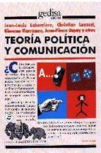 teoria politica y comunicacion-jean louis labarriere-9788474324303