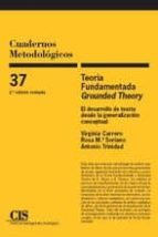 teoria fundamentada. grounded theory 9788474766103