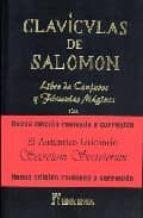 claviculas de salomon: 1641 (libro de conjuros)-jorge guerra-9788479103903