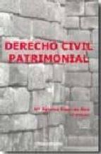 derecho civil patrimonial mª paloma fisac de ron 9788484085003