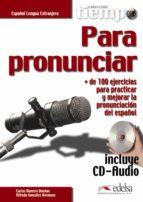 tiempo para pronunciar-carlos romero dueñas-9788490818503