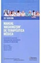 manual washington de terapeutica medica 33ª ed-9788496921603