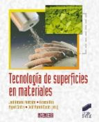 tecnología de superficies materiales-jose antonio puertolas-9788497566803