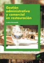 gestion administrativa y comercial en restauracion 9788497567503