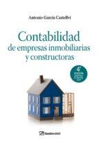 contabilidad de empresas inmobiliarias y constructoras-antonio garcia castellvi-9788498750003