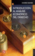 introduccion al analisis economico del derecho-andres roemer-9789681641603