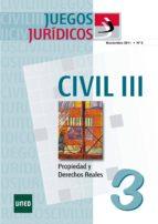 JUEGOS JURÍDICOS. DERECHO CIVIL III Nº 3 (EBOOK)