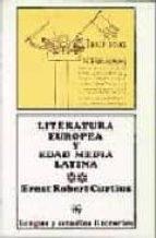 LITERATURA EUROPEA Y EDAD MEDIA LATINA