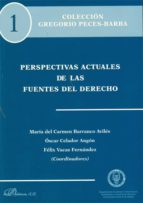 PERSPECTIVAS ACTUALES DE LAS FUENTES DEL DERECHO (EBOOK)