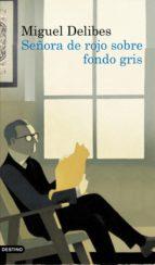 SEÑORA DE ROJO SOBRE FONDO GRIS (EBOOK)