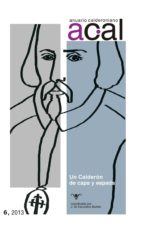 Anuario calderoniano 6 (2013).