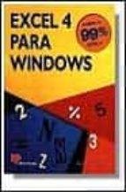 EXCEL 4 PARA WINDOWS (2ª ED.)