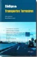 CODIGO DE TRANSPORTES TERRESTRES