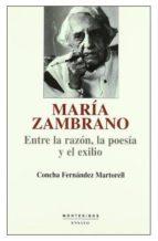 María Zambrano: entre la razón, la poesía y el exilio