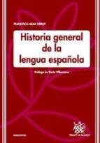 HISTORIA GENERAL DE LA LENGUA ESPAÑOLA (EBOOK)