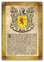 APELLIDO ADALID / ORIGEN, HISTORIA Y HERÁLDICA DE LOS LINAJES Y APELLIDOS ESPAÑOLES E HISPANOAMERICANOS (EBOOK)
