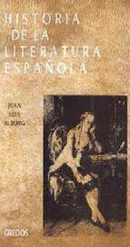 HISTORIA DE LA LITERATURA ESPAÑOLA: EL SIGLO XVIII