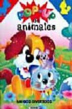 Amigos divertidos - pop-up de animales
