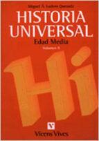HISTORIA UNIVERSAL: EDAD MEDIA