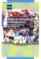 TEXTOS DE ANTROPOLOGÍA CONTEMPORÁNEA (EBOOK)