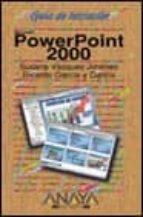 POWERPOINT 2000 (GUIA DE INICIACION)