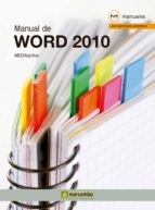 MANUAL DE WORD 2010 (EBOOK)