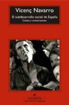 El Subdesarrollo Social De España (Compactos)