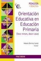 ORIENTACION EDUCATIVA EN EDUCACION PRIMARIA