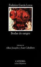 BODAS DE SANGRE (8ª ED.)