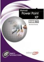 MANUAL POWER POINT XP: FORMACION PARA EL EMPLEO