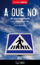 A QUE NO. 99 EXERCICIS D