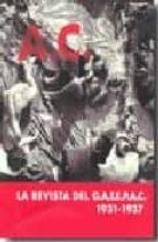 LA REVISTA DEL G.A.T.E.P.A.C 1931-1937