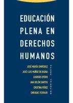 EDUCACIÓN PLENA EN DERECHOS HUMANOS (EBOOK)