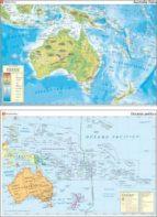 MAPAS MURALES Nº 31: AUSTRALASIA FISICA, OCEANIA POLITICA