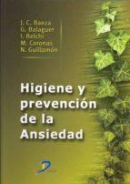 HIGIENE Y PREVENCIÓN DE LA ANSIEDAD (EBOOK)