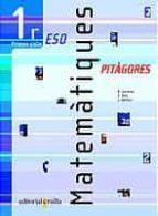 MATEMATIQUES (PITAGORES) (1ER ESO 1ER CICLE)