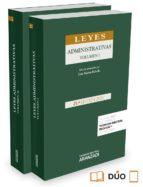 Leyes Administrativas (2 Vols) 21ª ed. 2015 (Codigos Basicos Prof. 2016)