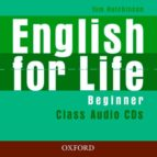 english for life beginner class (audio cd)-tom hutchinson-9780194307413