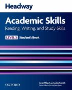 headway academic skills 3 reading, writing, and study skills stud skills student s book 9780194741613