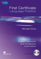 first certificate language practice (4ª edition) with key michael vince 9780230727113
