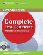 complete first certificate: workbook with audio cd (zona portugal) 9780521698313