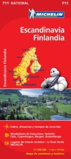 mapa escandinavia, finlandia 2012 (ref. 711)-9782067170513
