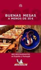 buenas mesas a menos de 35 euros 2019 (guia michelin)-9782067235113