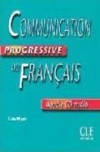 communication progressive du français  (double cd audio) claire miquel 9782090328813