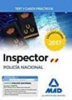 inspector de policia nacional: test y casos practicos-9788414206713