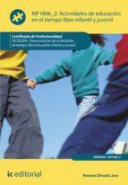 actividades de educación en el tiempo libre infantil y juvenil. sscb0209 (ebook)-rosario olmedo jara-9788415848813