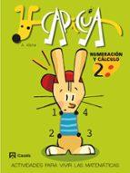 capicua: numeracion y calculo (2º educacion infantil) angel alsina i pastells 9788421832813
