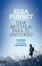 una mochila para el universo-elsa punset-9788423324613