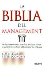 la biblia del management-bob nelson-9788423423613