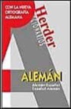 DICCIONARIOS HERDER ALEMAN-ESPAÑOL ; ESPAÑOL-ALEMAN